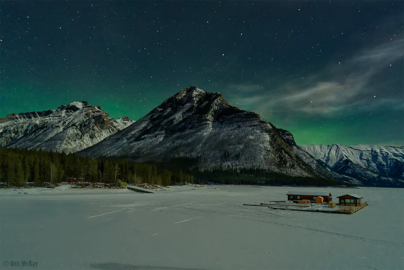 Aurora Borealis - Canadian Rocky-Mountains