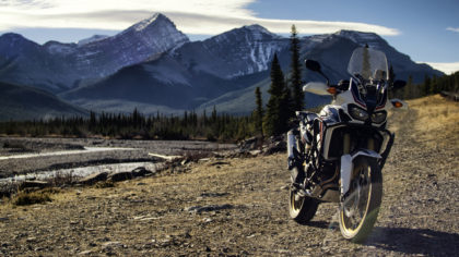 Honda Africa Twin Rocky Mountains